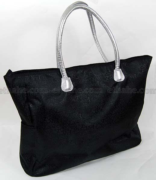 Hello Kitty Handbag Hand Shoulder Bag Tote Black I7GN
