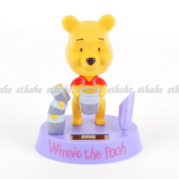 Winnie the pooh solar spielzeug auto deko lila e8g182 ebay - Winnie pooh deko ...