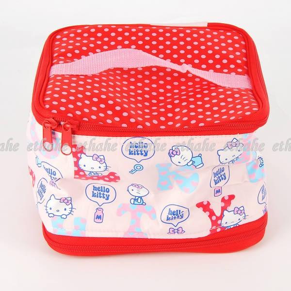 hello kitty lunch box bento tote warmer bag red e1gegz ebay. Black Bedroom Furniture Sets. Home Design Ideas