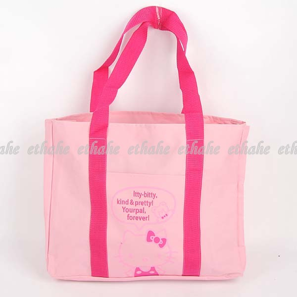 Hello Kitty Shopping Shoulder Bag Handbag Tote E1GEJE