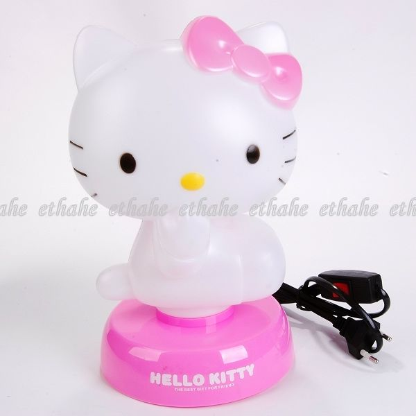 hello kitty night bed side light table desk lamp ghfx ebay. Black Bedroom Furniture Sets. Home Design Ideas