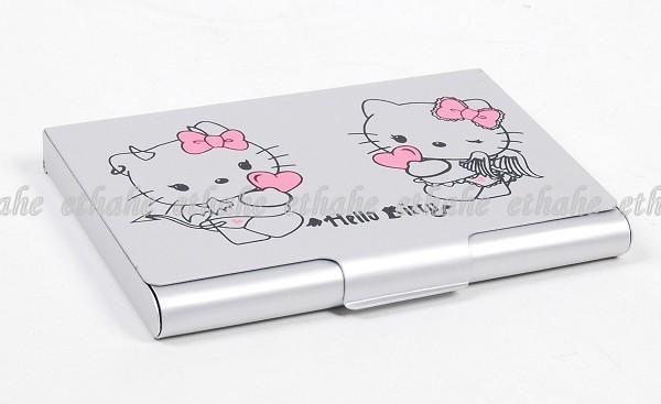 Hello Kitty Credit Business Card Holder Case Box 2HZJ