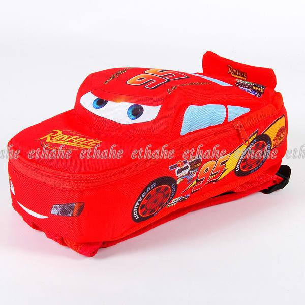 Lightning McQueen Bag, Plush Doll, Car.